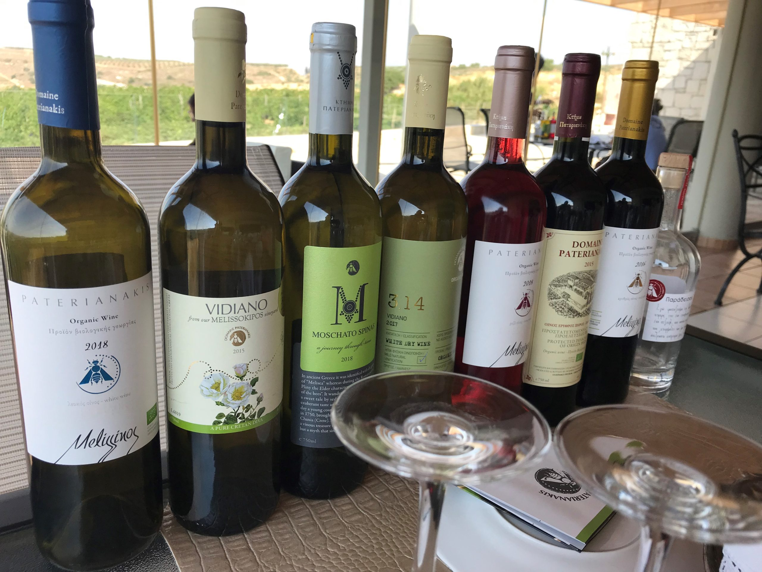 Paterianakis Winery tasting