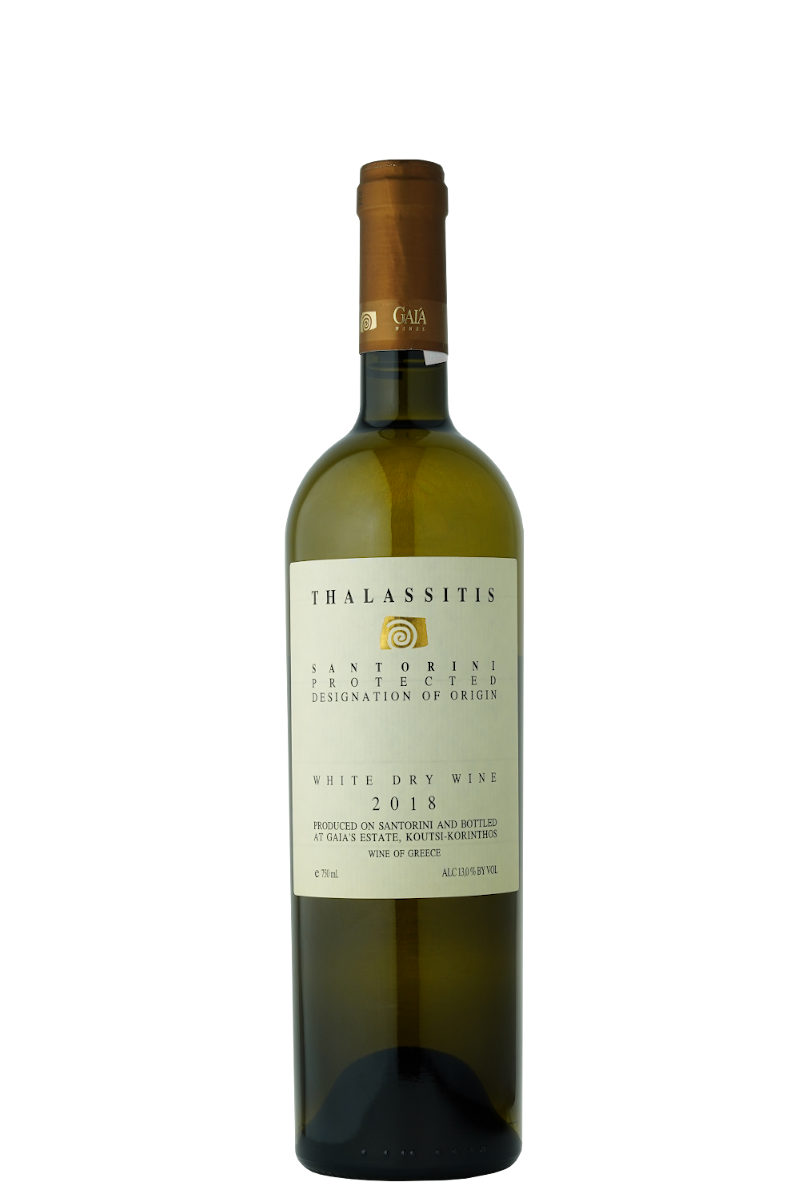 Thalassitis white dry wine 2018