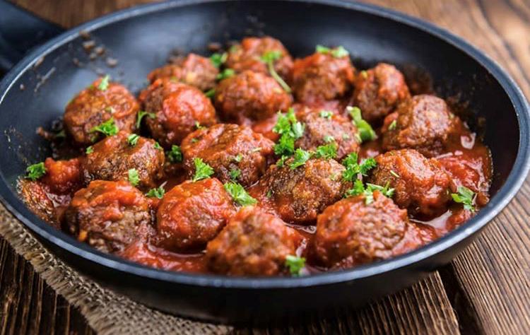 Greek meatballs Keftedes