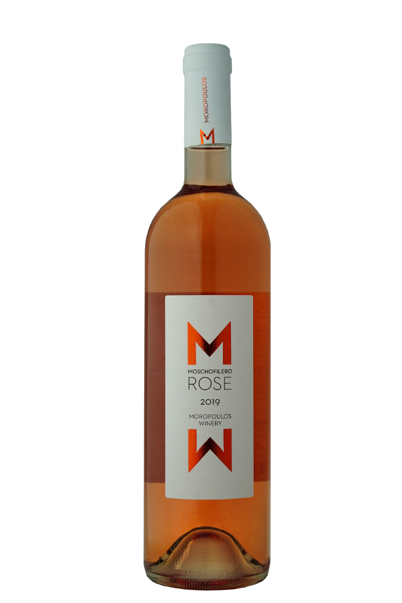 Moropoulos winery Mochofilero rose 2019