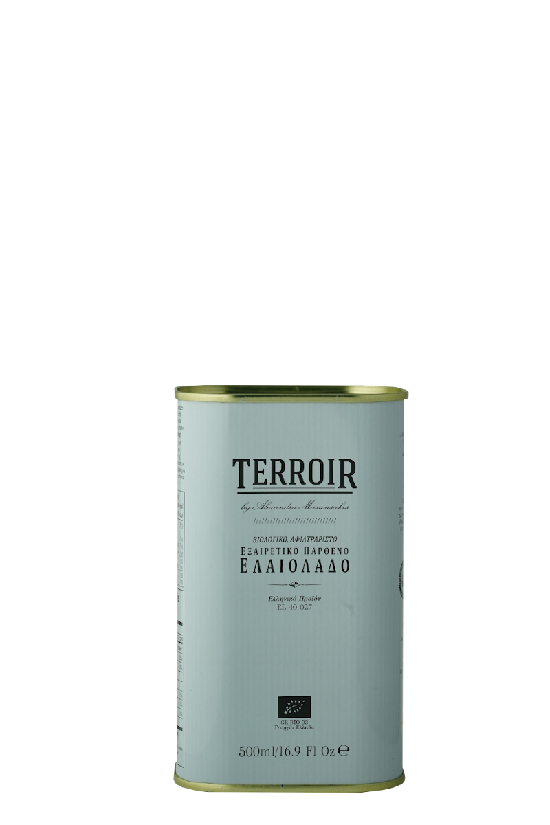 Manousakis Terroir olive oil 500ml