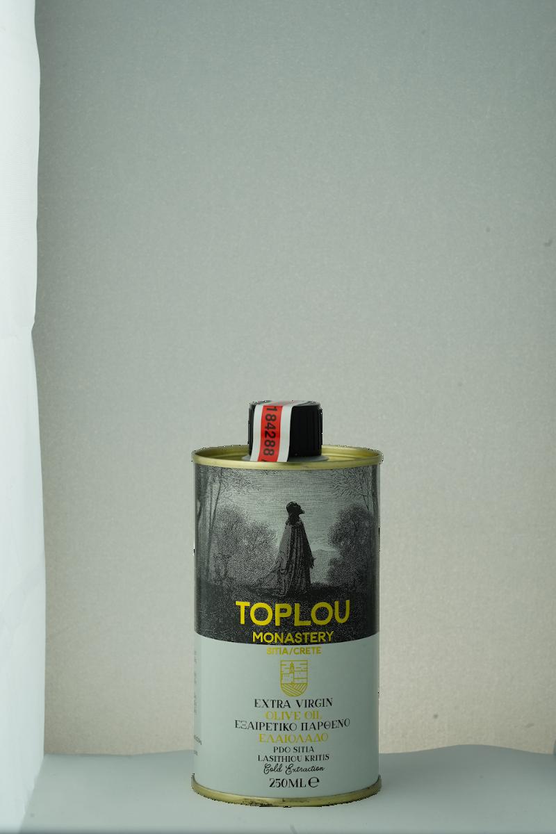 Toplou monastery olive oil